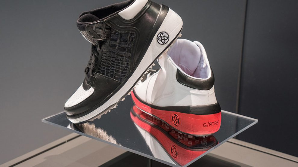 The G/FORE Hi Top is the preferred shoe of Bubba Watson.