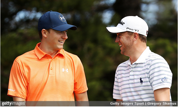 Jordan Spieth and Justin Thomas