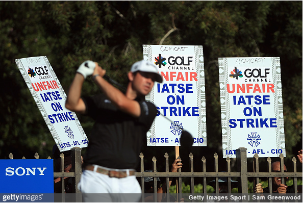 Golf Channel Strike